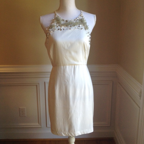 French Connection Dresses & Skirts - FRENCH CONNECTION Beaded Dress NWT SZ.10